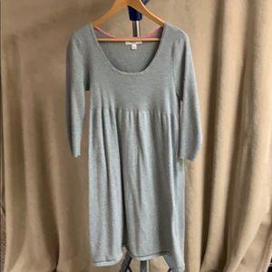 Isaac Mizrahi for Target gray sweater dress
